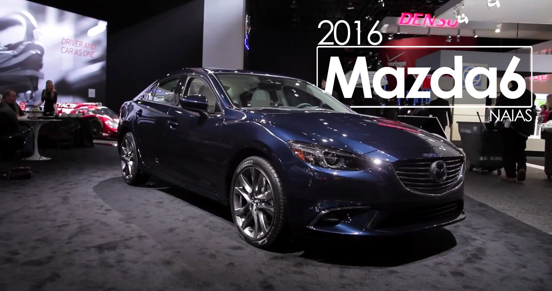 Mazda6 Flys Under the Radar at 2017 NAIAS