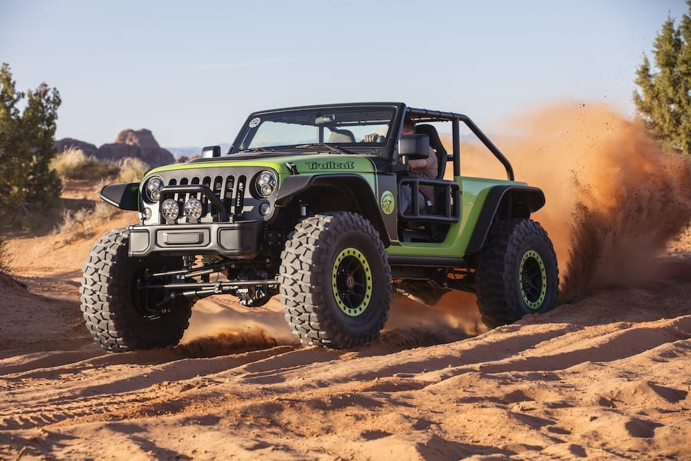Dear Jeep, Can We Have a Hellcat-Powered Wrangler? Please? thumb